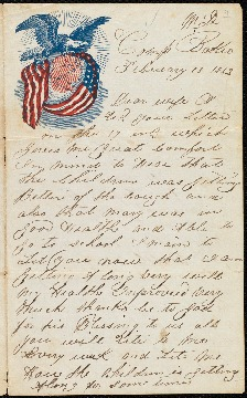 Home civil war letters each letter in wellesleys catharine mitchill 31 collection of family letters and brandeiss thecheapjerseys Images