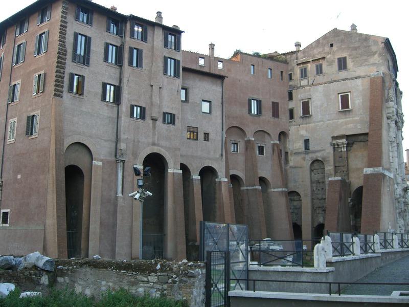 Theatre Of Marcellus Palazzo