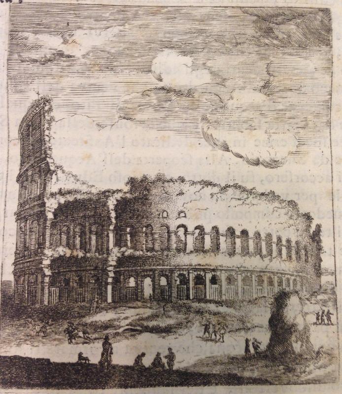Ficoroni's illustration of the Colosseum
