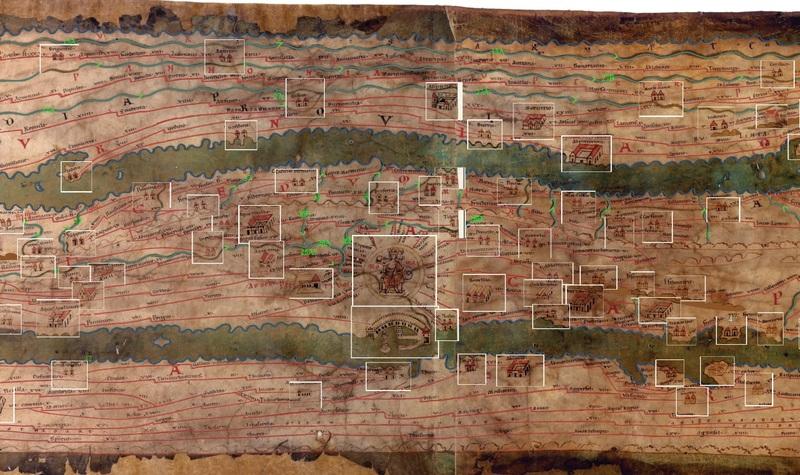 Peutinger table pompeii