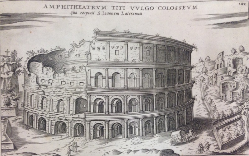 Lauro illustration of the Colosseum