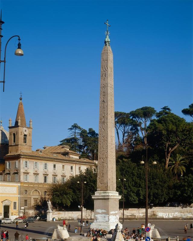 Flaminian Obelisk, Piazza del Popolo