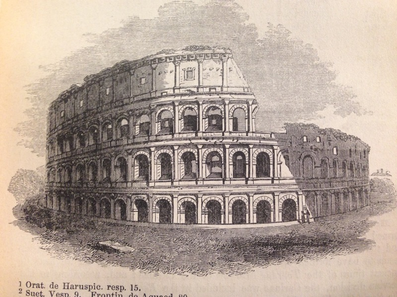 Ramsay's illustration of the Colosseum