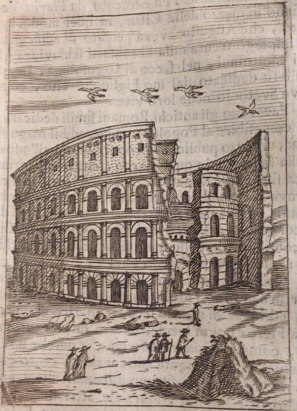 de Rossi image of the Colosseum